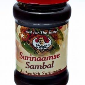 Hotsauzen-Surinaamse sambal voorheen sambal dia