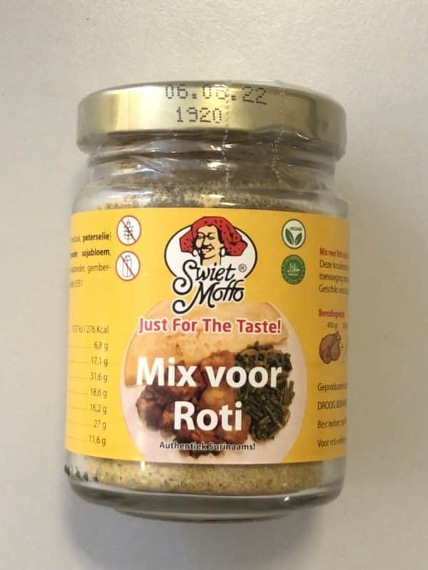 Roti Kruiden mix (Single Use Pot)